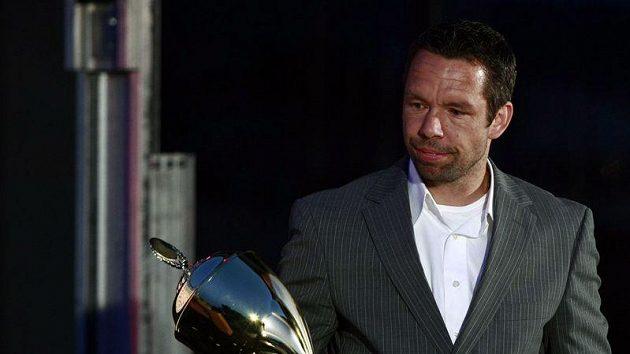 Pavel Horváth pobral na Letním večeru fotbalu nejvíc trofejí.