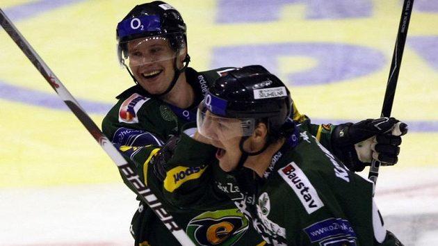 Radost hokejistů Karlových Varů