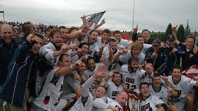Tým USA, mistři světa ve fieldlakrosu 2010