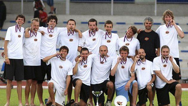 Vítězný tým v kategorii open Prague devils.
