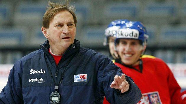 Kouč hokejové reprezentace Alois Hadamczik