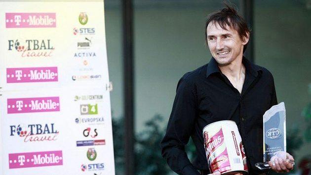 Brankář Slavie Martin Vaniak získal také cenu Fair play od ČTK.