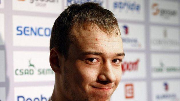 Jan Kovář na srazu hokejové reprezentace