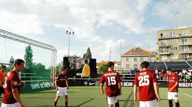 Sparta nasadila do exhibiční části Nike City Cupu tým složený výhradně z hráčů prvoligové soupisky.