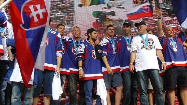 Vladimír Vůjtek se svými svěřenci.