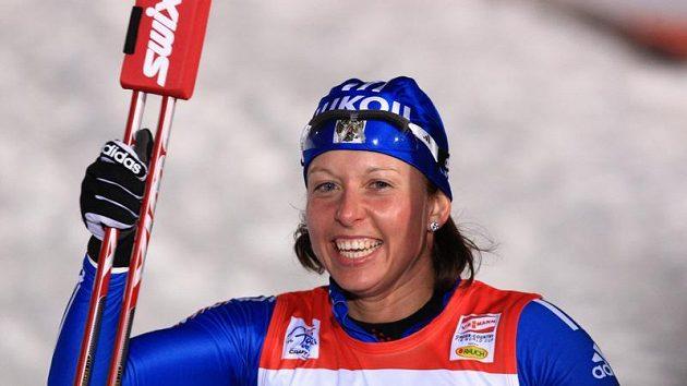 Vítězka pražského sprintu Tour de Ski na Strahově Natalia Korostělevová z Ruska