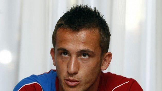 Fotbalový reprezentant Tomáš Pekhart