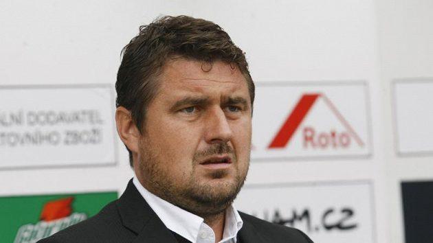 Trenér Olomouce Zdeněk Psotka.
