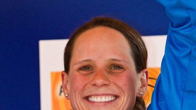 Česká cyklokrosařka Kateřina Nash vybojovala bronzovou medaili na MS v Německu.