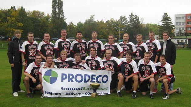 SK Lacrosse Jižní Město, vítěz Národní fieldlakrosové ligy 2010