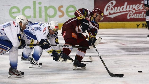 Ivan Rachůnek v utkání proti Kometě Brno