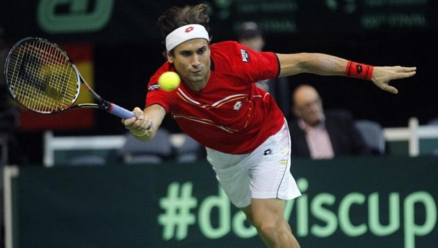 Return jedničky španělského týmu Davida Ferrera