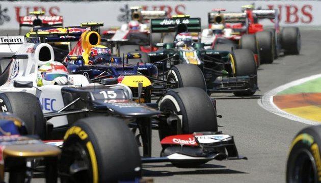 Velká cena Evropy formule 1 ve Valencii