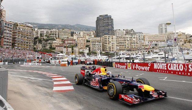 Sebastian Vettel ze stáje Red Bull během VC Monaka