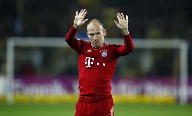 Smolař zápasu Arjen Robben