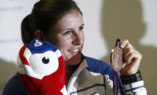 Překážkářka Zuzana Hejnová s olympijským bronzem.