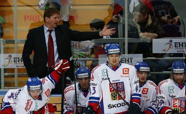 Marně se kouč Alois Hadamczik rozčiloval, jeho tým Rusy nezastavil...