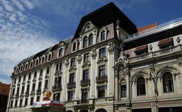Hotel Monopol ve Vratislavi, kde česká fotbalová reprezentace na Euru bydlí