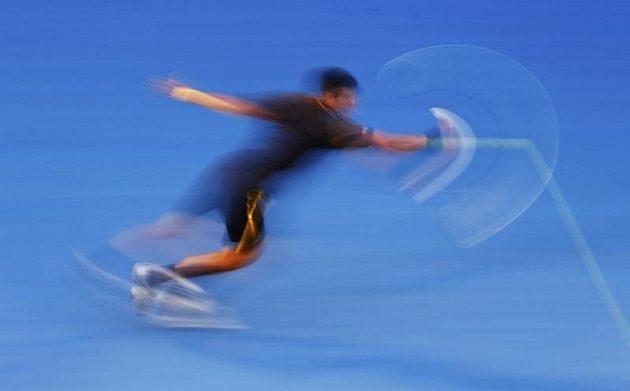 Novak Djokovič v semifinále Australian Open proti Davidu Ferrerovi.