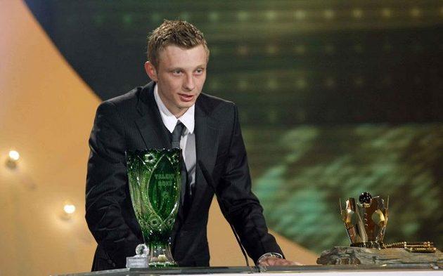 Ladislav Krejčí získal ocenění Talent roku při slavnostním vyhlašování ankety Fotbalista roku.