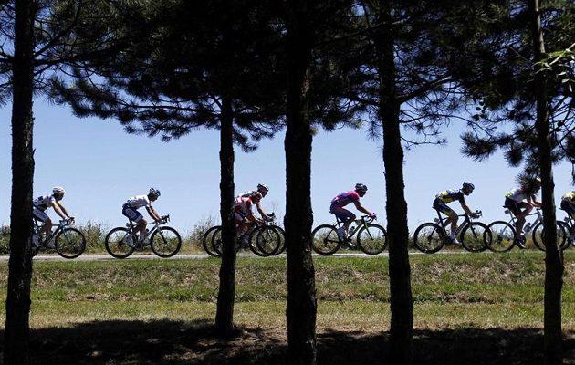 Cyklisté na Tour de France 2012