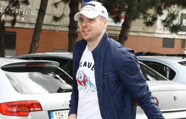 Tomáš Žižka na srazu národního týmu