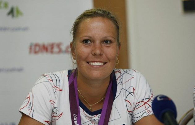 Stříbrná olympijská medailista v tenisové čtyřhře žen Lucie Hradecká