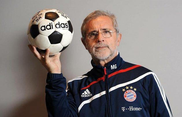 Sedmašedesátiletý Gerd Müller vypadá stále skvěle.