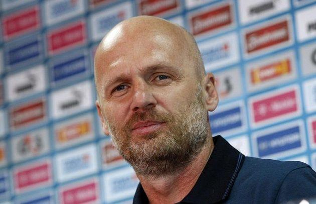 Michal Bílek vystoupil po zápase s Polskem na tiskové konferenci k postupu týmu do čtvrtfinále