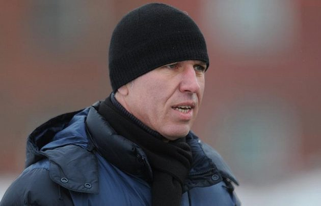 Liberecký trenér Jaroslav Šilhavý během utkání Tipsport ligy.