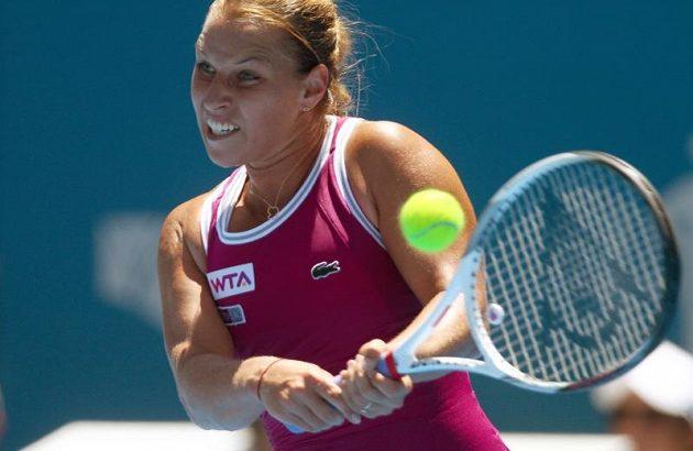 Slovenka Cibulková ukořistila vůbec první výhru nad českou hráčkou.