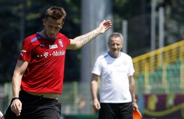 Tomáš Pekhart a jeho tetování