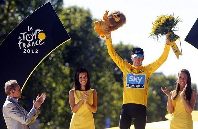Jako první Brit slavil Bradley Wiggins vítězství v Tour de France.