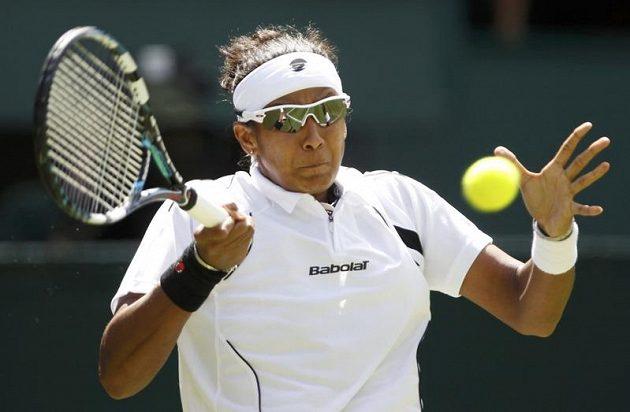 Akgul Amanmuradovová z Uzbekistánu, první soupeřka české obhájkyně titulu ve Wimbledonu