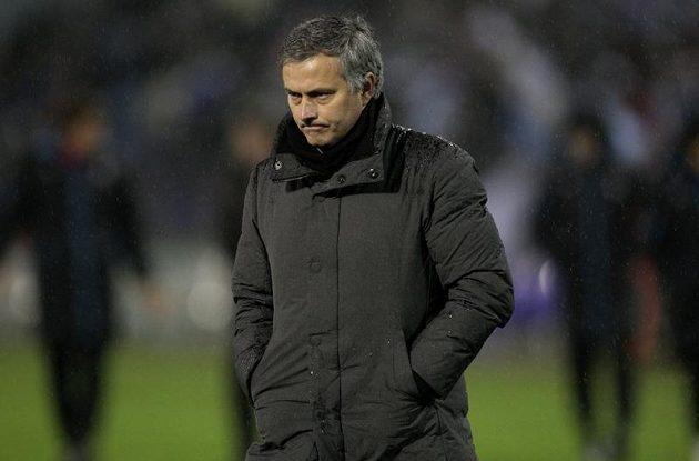 Kouč Realu Jose Mourinho.
