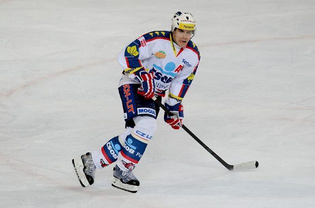 Tomáš Rolinek z Pardubic