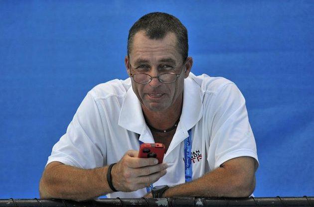 Kouč Ivan Lendl při tréninku se svým svěřencem Andym Murraym.