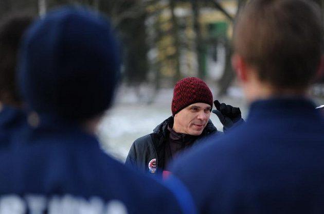 Trenér Vítězslav Lavička během kondičního soustředění Sparty Praha