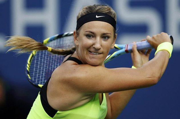 Běloruská tenistka Viktoria Azarenková ve finále US Open.