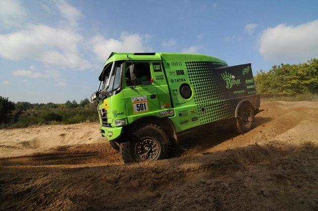 Stroje Bonver Dakar týmu v přípravě na nejslavnější soutěž světa.