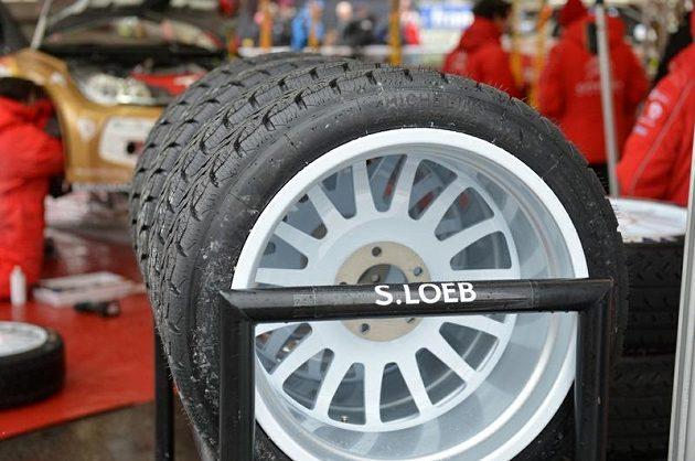 Pneumatiky, které dovezly Sébastiena Loeba k vítězství v Rallye Monte Carlo 2013.
