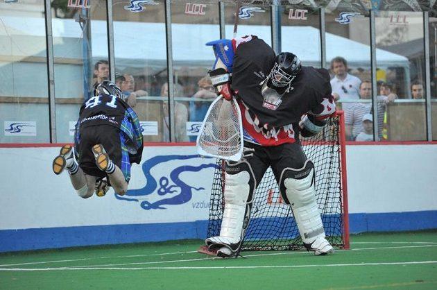 Memoriál Aleše Hřebeského 2012, zápas o 3 místo, Nova Scotia Privateers – SK Lacrosse Jižní Město.