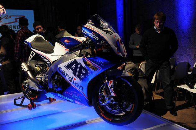 Nový motocykl Karla Abrahama.