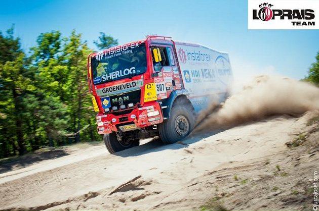 S kamiónem MAN TGS 18.480 nizozemského týmu absolvuje Aleš Loprais letošní Silk Way Rally.