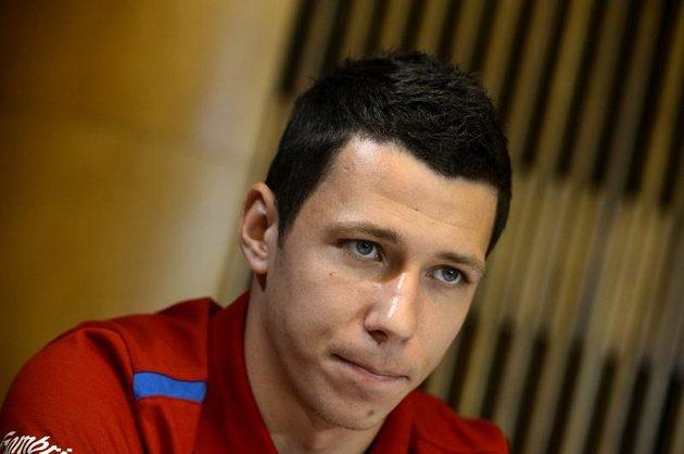 Marek Suchý na srazu fotbalové reprezentace před přípravou na mistrovství Evropy.