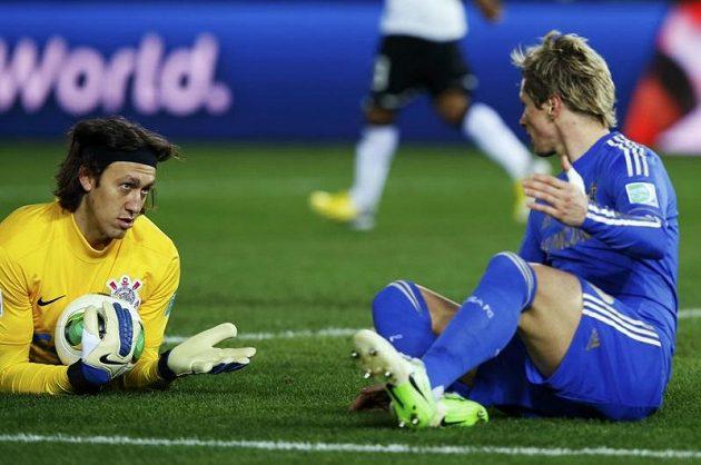 Torres po pádu ve vápně rozmlouval s Cassiem.