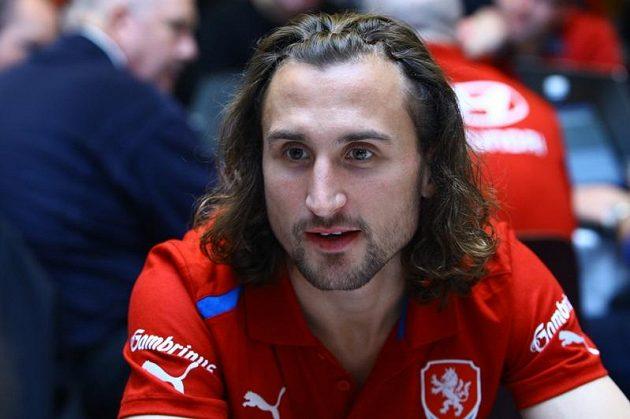 Petr Jiráček na srazu fotbalové reprezentace