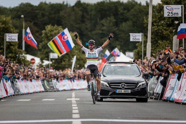Slovák Peter Sagan slaví šestý titul slovenského šampióna v kariéře.