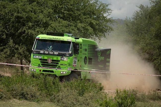 Tatra Martina Kolomého na trati Rallye Dakar.