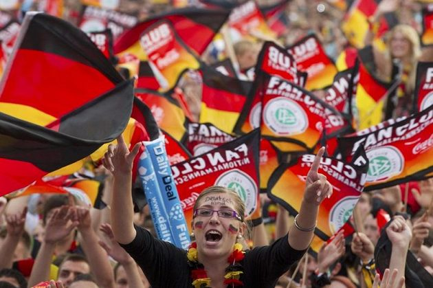 Radost německých příznivců